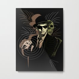 G-Man on Holiday Metal Print