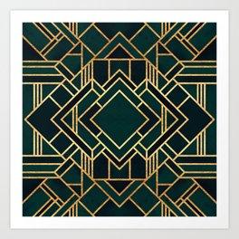 Art Deco 2 Art Print