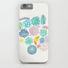 A Serene Succulent Underwater World iPhone 6 Slim Case