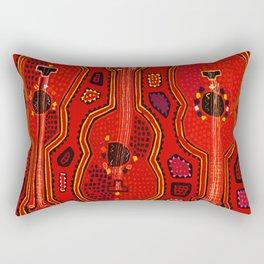 Flamenco Guitars Rectangular Pillow