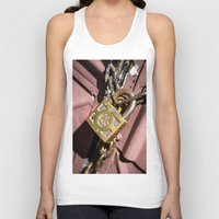 doors Tank Tops featuring Chained doors by davehare