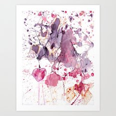 Swap Your heart for one sweet cherry? Art Print