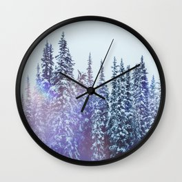 Winterscape Wall Clock