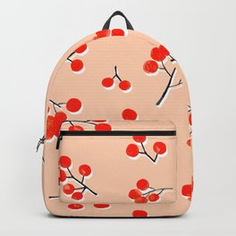 Fall Twigs Red Flowering Dogwood Backpack
