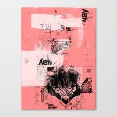 misprint 80 Canvas Print