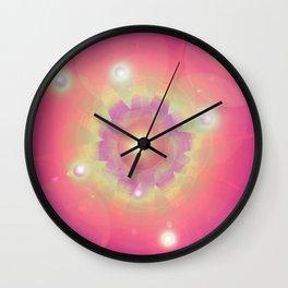 Pink Energy-Light Wall Clock