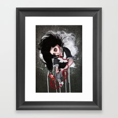 without a heartbeat Framed Art Print
