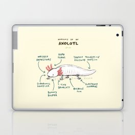 Anatomy of an Axolotl Laptop & iPad Skin