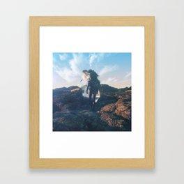 Ivy Man Framed Art Print