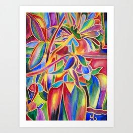 Cloisonne Bells Art Print