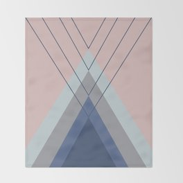 Iglu Pastel Throw Blanket