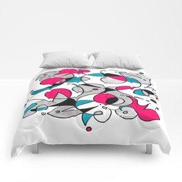 Abstract Birds Comforters