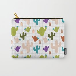 Cactus orange and green #homedecor Carry-All Pouch