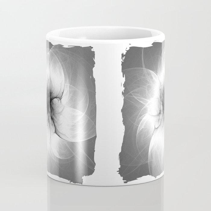 Ghost Flower Fractal Coffee Mug