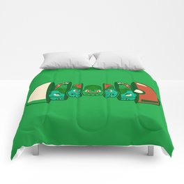 Poketryoshka - Grass Type Comforters