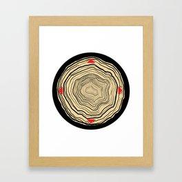 The Hunt Clock Framed Art Print