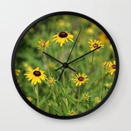Black Eyed Susans Wall Clock