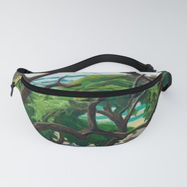 Franklin Carmichael - Old Orchard - Canada, Canadian Watercolor Painting - Group of Seven Fanny Pack