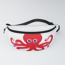Octopus (Red) Fanny Pack