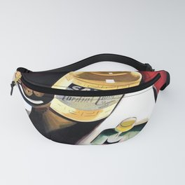 Vintage Campari Italian Cordial Advertisement Wall Art Fanny Pack
