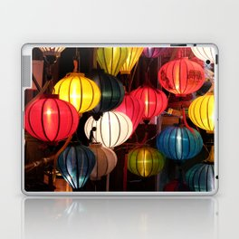 Colourful Lanterns of Hoi An, Vietnam Laptop & iPad Skin