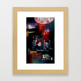 The Old Firestation Framed Art Print