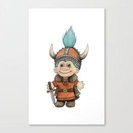 Vikingtroll Canvas Print