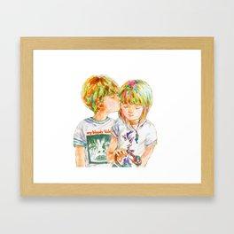 Pop Kids vol.8 Framed Art Print