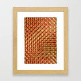 Lollipop Field Framed Art Print