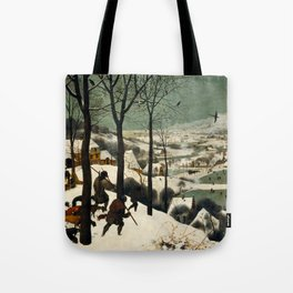 The Hunters in the Snow, Pieter Bruegel the Elder Tote Bag