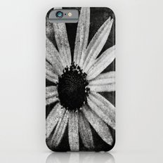 Flower in Black and white iPhone 6s Slim Case