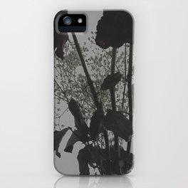 Dark Flora iPhone Case