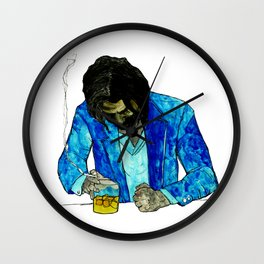 SERIOUS JIBBER JABBER Wall Clock