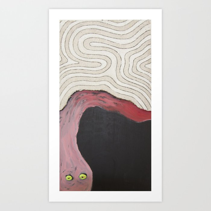 Tired Thoughts Art Print