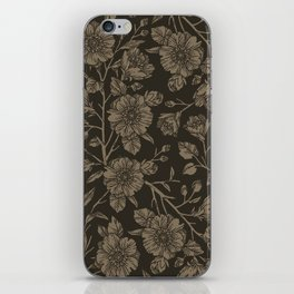 Midnight Blooms iPhone Skin
