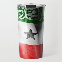 Somaliland Flag Travel Mug