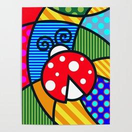 Lucky Ladybug Poster