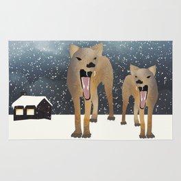 Coyotes Rug