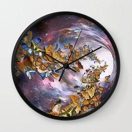 Butterflies Lux by GEN Z Wall Clock