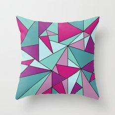 Purpinklue Throw Pillow
