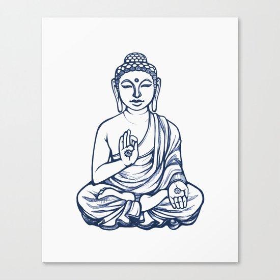 Varada Buddha (namaste) Canvas Print