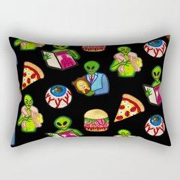 Bad Aliens Rectangular Pillow