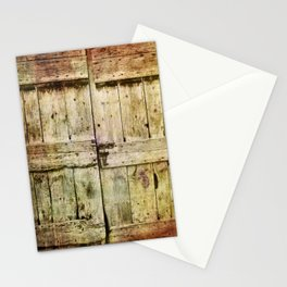 460 Old Barn Door Stationery Cards