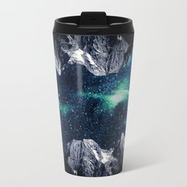 Lost in a world of dreams and mountains Travel Mug