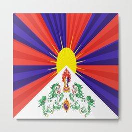 Love Tibet-457 Metal Print