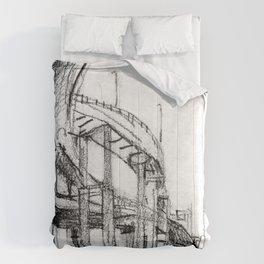 Bridge Underside Comforters