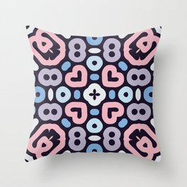Color Poppy Throw Pillow