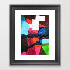 Je reviens Framed Art Print