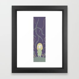 Mary quite contrary Framed Art Print