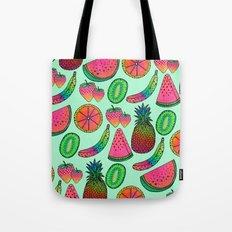 I ♥ Fruits Tote Bag